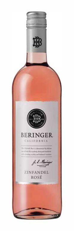 Beringer, Zinfandel rosé, classic, 2017