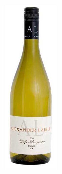 Weingut Alexander Laible, Weißer Burgunder ** Trocken, 2018