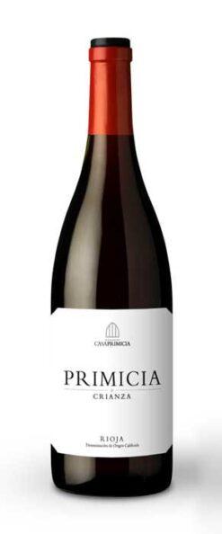 Bodegas Primicia, Rioja Crianza, 2016