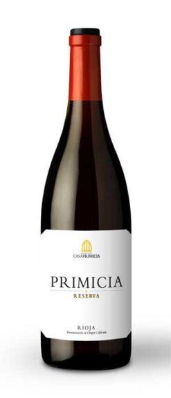 Bodegas Primicia, Rioja Reserva, 2014
