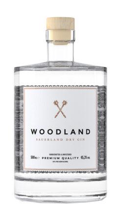 Woodland, Sauerland Dry Gin + Jutesack