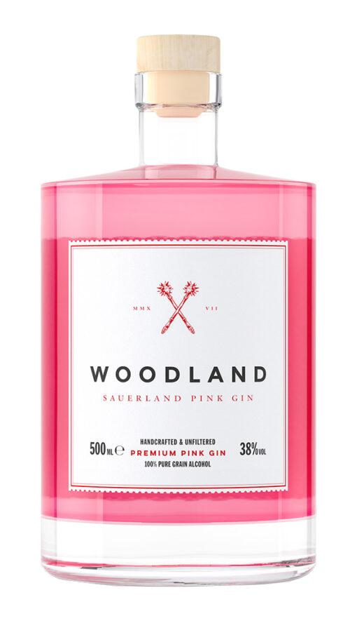 Woodland, Sauerland Pink Gin