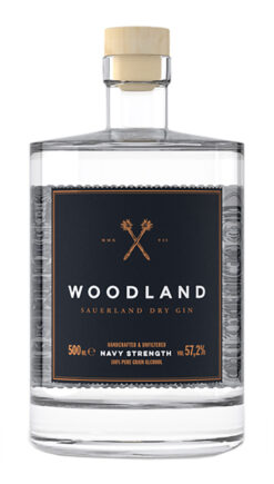 Woodland, 'The Navy Strength', Sauerland Dry Gin