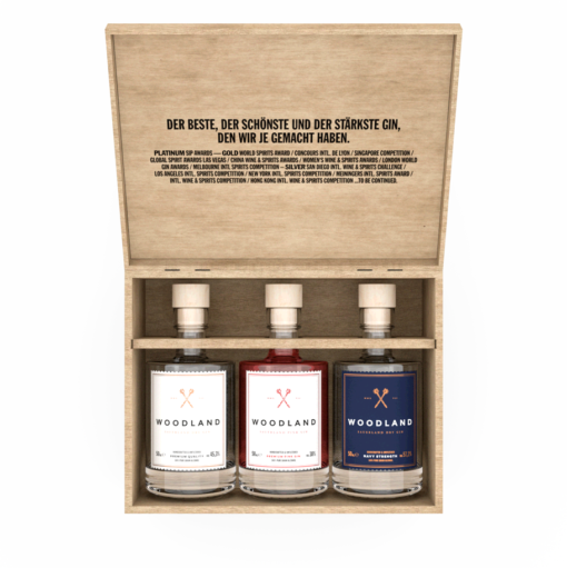 Woodland Sauerland Dry Gin Triple Box