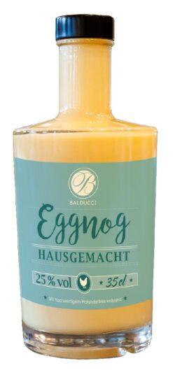 Eierlikör mit Holunderbrand - 'Balducci Eggnog'